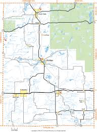 Wisconsin Counties Map by Price County Wisconsin Map