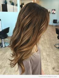 light brown highlights on dark hair trendy hair highlights light brown balayage with caramel