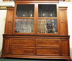 Pine Gun Cabinet Custom Cherry Gun Cabinet 46 Gun Cabinet Huge Gun Cabinet