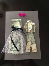 wedding presents and groom money origami a diy gift idea for a wedding or