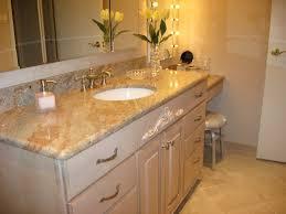 Bathroom Vanity Countertop Bathroom Rectangle Lowes Sink Vanity With Black Countertop And