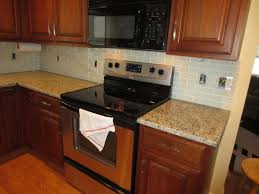Kitchen Tile Backsplash Installation Kitchen How To Install A Glass Tile Backsplash Armchair Builder