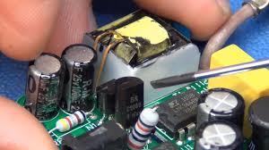 electronic components led lights ikea led l repair fix ec projects youtube
