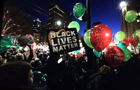 amazon just killed black friday black friday protesters decry materialism racism violence the