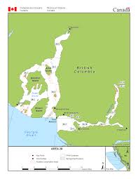 Furry Map Area 28 Vancouver Bowen Island Indian Arm Squamish Bc Tidal