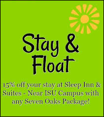 discount for package deal stay and play seven oaks recreation