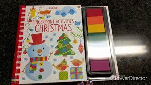fingerprint activities christmas youtube