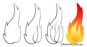 coloring pages of flames flame outline drawings flame drawings burning fire craft ideas