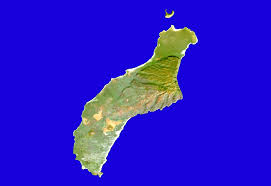 Hawaii Island Map Landsat Stock Maps Maps Of Hawaii Maps For Entire State And