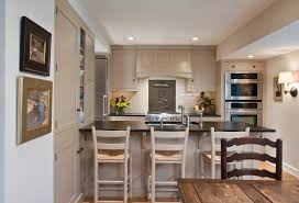 kitchen peninsula with seating ideas for small kitchens counter