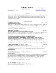 Sales Objective For Resume Ad Sales Sample Resume Mitocadorcoreano Com
