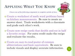 intro to the kitchen culinary arts ppt video online download