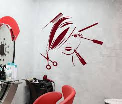 vinyl decal beauty salon decor hair stylist tools spa barber style vinyl decal beauty salon decor hair stylist tools spa barber style wall sticker mural ig2529