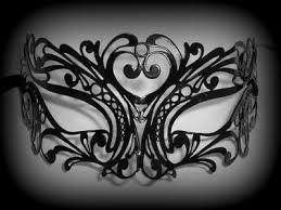 tattoo filigree metal venetian masquerade mask