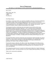 ceo executive director cover letter sample best cover letter one
