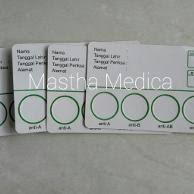 Serum Tes Golongan Darah jual 1 paket serum uji darah dan kertas golongan darah di lapak