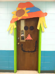 halloween or fall door decoration sunday pinterest fall