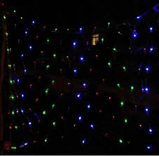waterproof christmas light connections dark gree wire led net lights ls 1 5m 1 5 100led flashing