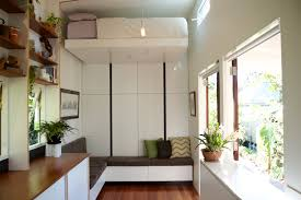 take a tour of the young brisbane couple u0027s tiny home