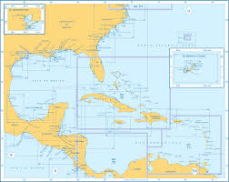 Map Of West Indies Admiralty Charts West Indies And Central America And Bermuda