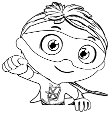 hi my friends you can find here super why coloring page exactly