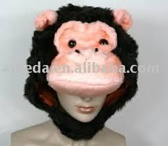 Gorilla Halloween Costume Kids Halloween Gorilla King Kong Party Warm Costume Hat Mask Cap