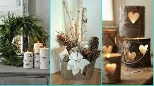 ❤DIY Shabby chic style Birch wood decor Ideas ❤ Home decor