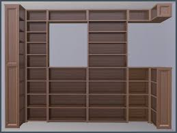 3 shelf corner bookcase mod the sims move over dahlen