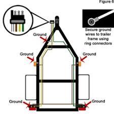 trailer light wiring diagram 4 wire wiring diagram and schematic