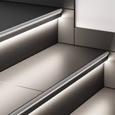 automatic stair lighting automatic light stairs illumination of