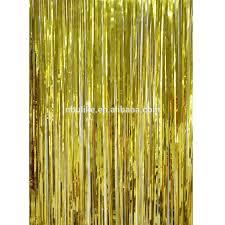 Gold Foil Curtain by Gold Fringe Curtain Singapore Oropendolaperu Org