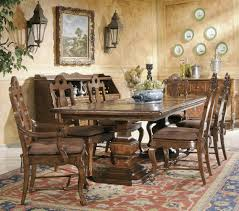 Baker Dining Room Furniture Baker S Home Furnishings Contemporary Dining Room Set For