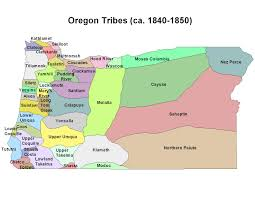 Northern Oregon Coast Map by Native American Tribes In Oregon Google Search Social Studies