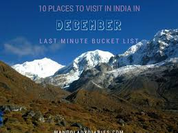 10 places to visit in india in december last minute list