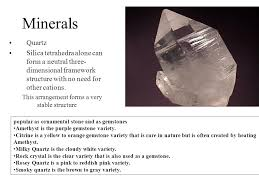 matter and minerals ppt