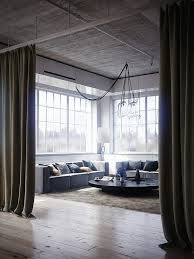 Endearing Curtains For Loft Ideas with Loft Window Treatments Home