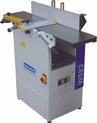 w583 trade quality planer thicknesser 250mm cast iron construction