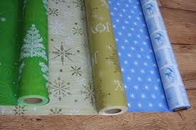 reversible christmas wrapping paper a farm s christmas presents