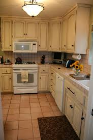 Two Tone Painted Kitchen Cabinets by Painting Kitchen Cabinets With Diy Chalk Paint Awsrx Com