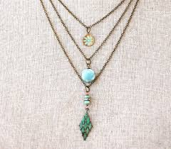 charm necklace images 25 unique charm necklaces ideas heart pendants jpg