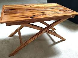 Small Wood Folding Table Side Table Low Folding Table W Center Table Folding Side Table
