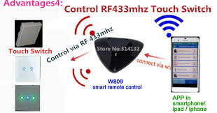 universal ceiling fan remote app aliexpress buy android ios smart home automation universal wifi