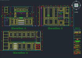 Autocad For Kitchen Design by Sample 2d Cad Drawing Autocad 3d Cad Model Grabcad