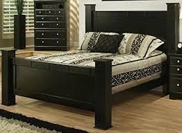 amazon com sandberg furniture elena estate headboard footboard
