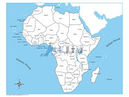 Map Of Africa Labeled by Montessori Labeled Africa Control Map Buy Montessori Material