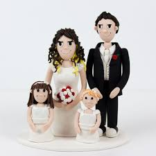family cake toppers wedding cakes cool wedding cake topper family for the big day