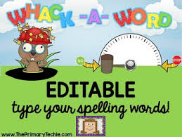whack a word by the primary techie teachers pay teachers