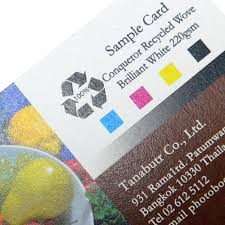 Recycle Paper Business Cards Recycled U0026 Eco Friendly Business Cards Tanabutr