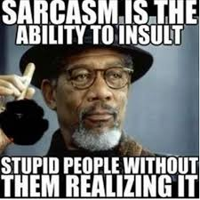 Funny Sarcastic Memes - sarcasm is the best hood truth pinterest sarcasm humor and memes
