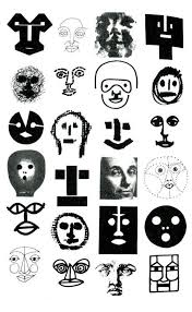 design as art bruno munari bruno munari drawings of faces multiple identities of a face